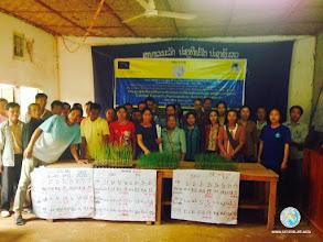 Photo: CFPAR participants  Fouang district, Lao PDR