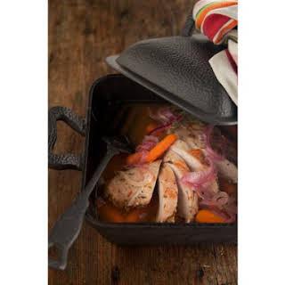 Slow Cooker Apricot Glazed Pork Tenderloin.