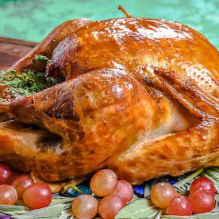 Roast Turkey with Apple Cider Brine Recipe