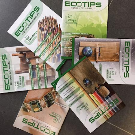 Uitgever en redactie ecoTips magazine