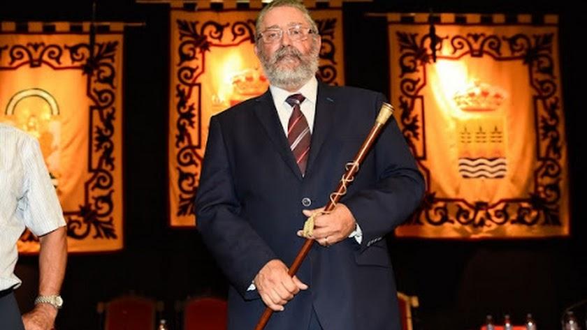 Alcalde de Albox, en una imagen de archivo.