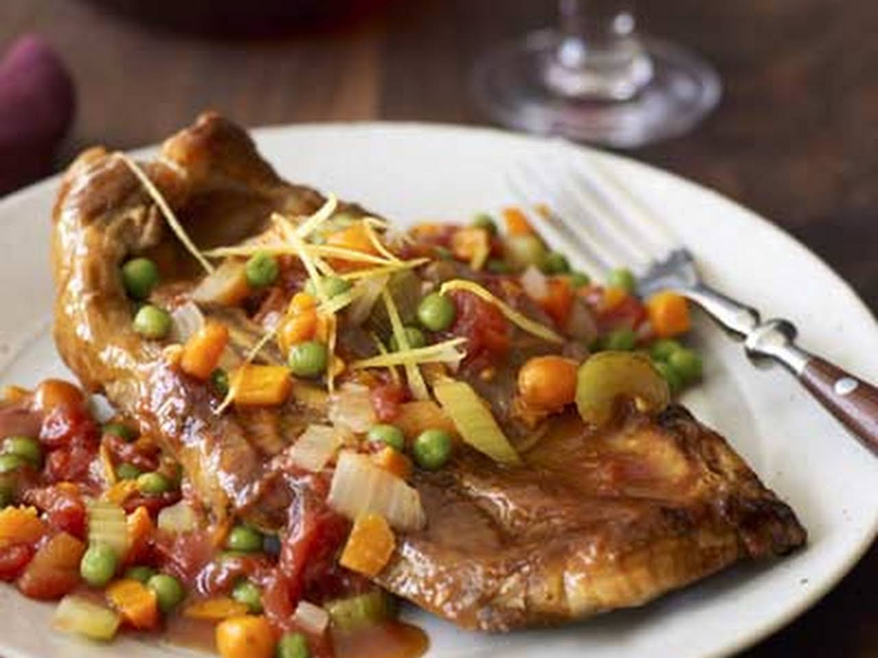 veal chuck chop recipe Veal Shoulder Chops, Osso Buco Style