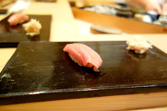 Photo: Toro. Strange how the flow of the meal was different from what seems common in other Tokyo sushi restaurants, and not necessarily in a bad way.