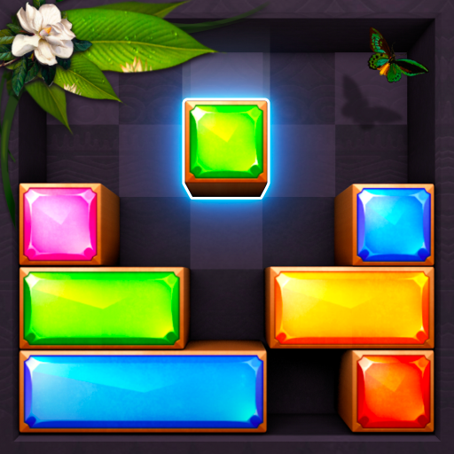Jewel Blast - Block Drop Puzzle Game Icon