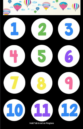 Learn english number game