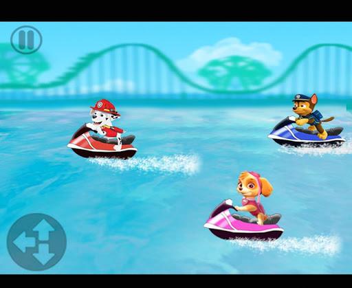 Jetski Paw Racers Patrol 1.0 screenshots 1