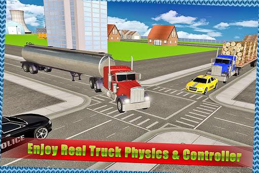 トランスポータートラックシミュレータ3D