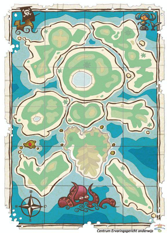 Een archipel is een verzameling van allemaal eilanden, die samen 1 geheel vormen. Als je goed kijkt merk je dat deze eilanden samen een mannetje vormen. Elk eiland heeft een bijzondere vorm en een bijzondere betekenis. Zo is er het taaleiland, denkeiland, muziekeiland, sameneiland, wereldeiland, beeldeiland, fijneiland, beweegeiland en durfeiland.