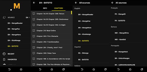 Manga Reader N app (apk) free download for Android/PC/Windows screenshot