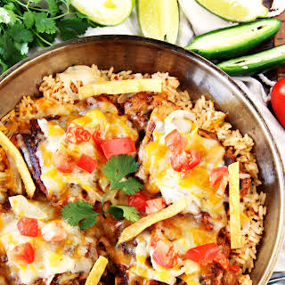 Enchilada Chicken & Rice.