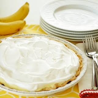 Salted Caramel Banana Cream Pie.