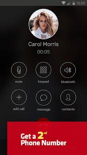 Hushed Different Number App Get a 2nd Phone Number - náhled