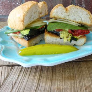 Roasted Garden Veggie Sandwich