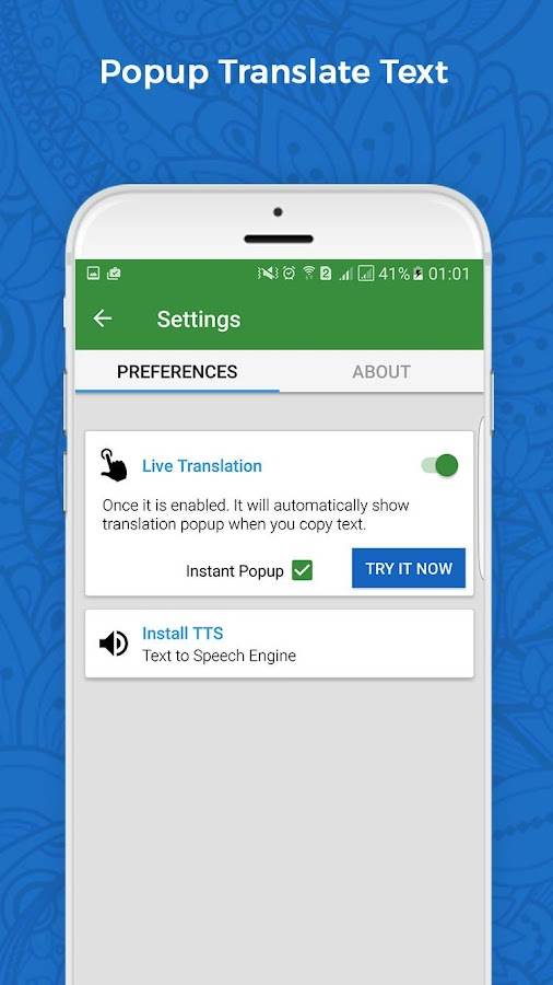 Translate voice - Translator- screenshot
