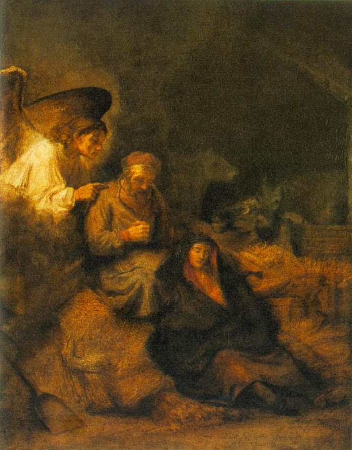 Article on Rembrandt, Dream of St. Joseph