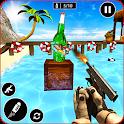 Real Gun Bottle Shooter Simulator 2019 icon