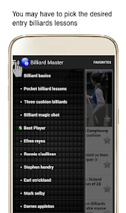 Billiard Master - Video Lesson screenshot 1