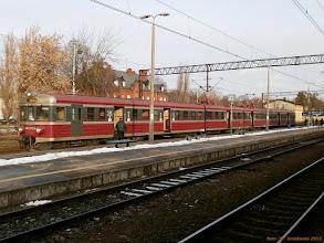 Photo: EN57-113, Poznań Główny - Toruń Główny {Toruń Główny; 2013-01-11}