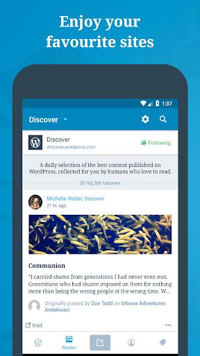 WordPress – Website & Blog Builder 11.3 screenshots 2