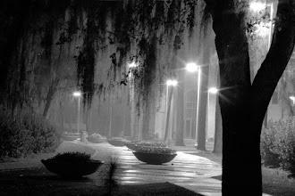 Photo: VSU at night
