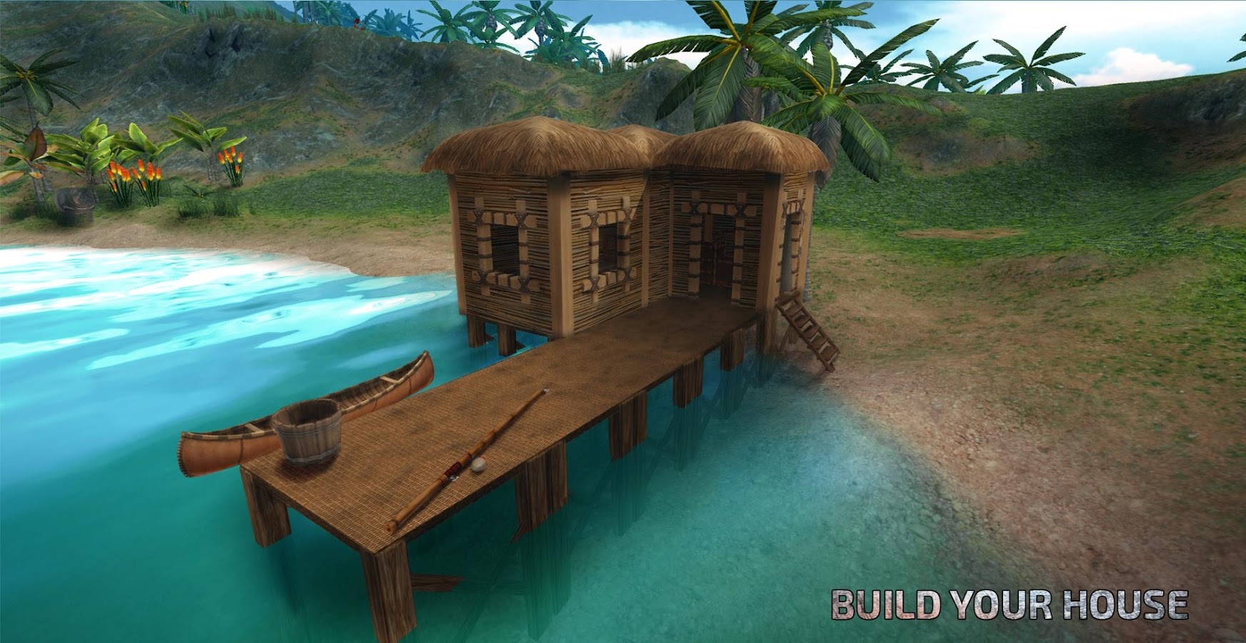 Survival island evolve survivor building home android for Things to know when building a house