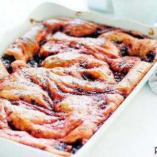 Yeast Raised Raspberry Coffeecake