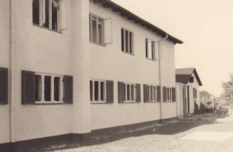 Photo: 25. september 1943 blev en højspændingsmast sabotagesprængt, og samtlige af roklubbens vinduer mod nord blev blæst ind.