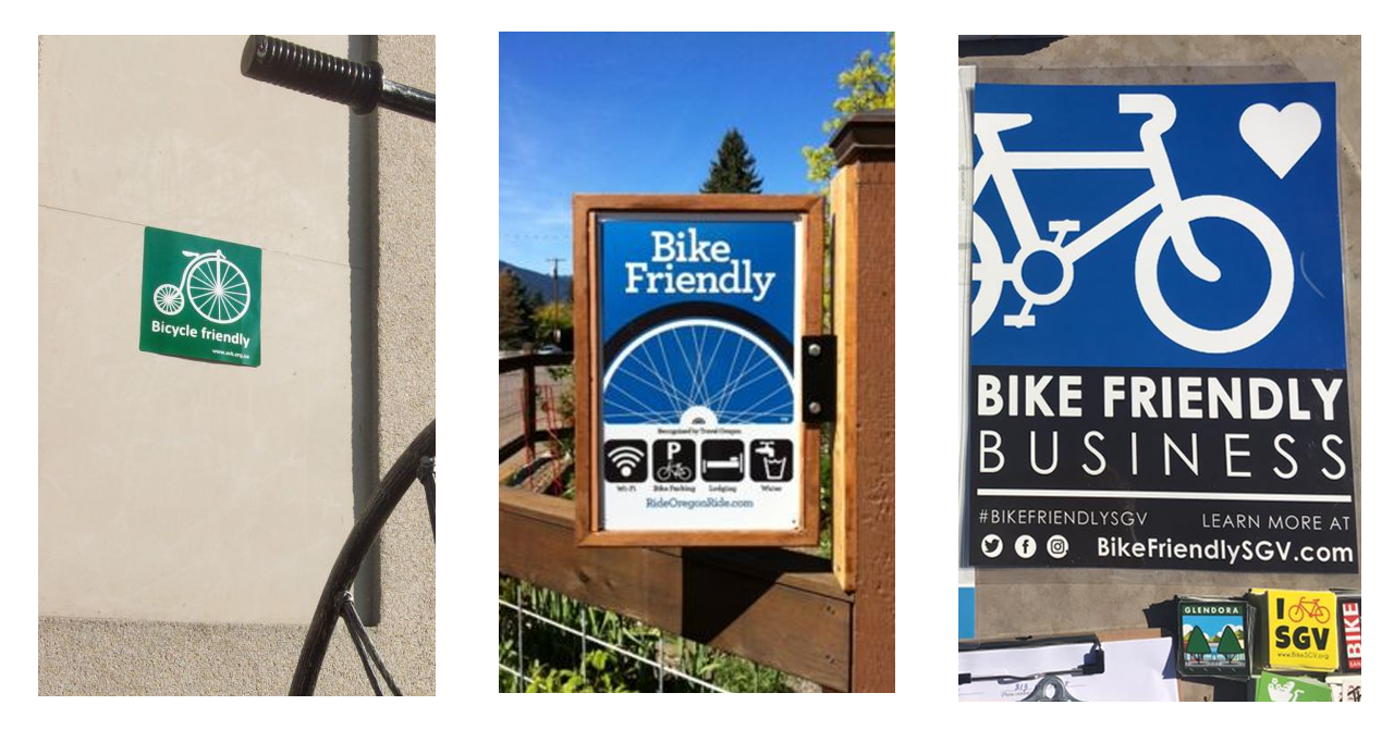 Bike-friendly business