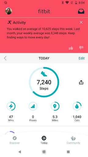 Fitbit Screen Shot