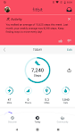 screenshot of Fitbit