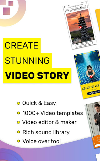 Video Story Maker, Post Maker, Social Video Maker 28.0 screenshots 17