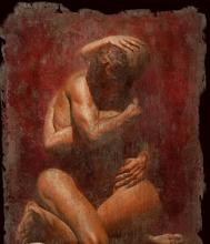 Photo: Pareja desnuda abrazándose