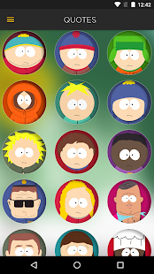The Official South Park App- screenshot thumbnail