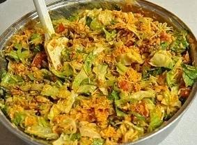 Taco salad internet photo...my camera  needs a new battery..hubby went to get some...