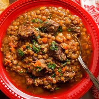 Beef Lentil Stew Recipes.