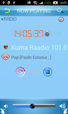 android Estonian Radio Screenshot 2