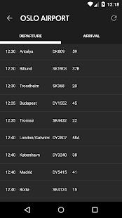 Avinor Flights - screenshot thumbnail
