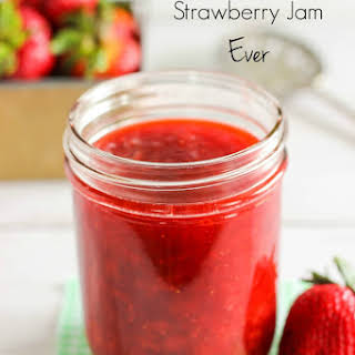 Easiest Strawberry Jam Ever.