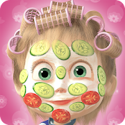Masha and the Bear: Hair Salon and MakeUp Games