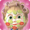 Masha and the Bear: Hair Salon and MakeUp Games icon
