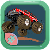 Monster Truck Offroad puzzles