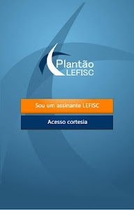 Plantão LEFISC screenshot 0