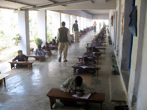 Photo: Project Mala School children taking end of year exam