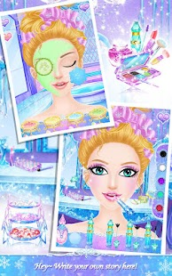 Princess Salon: Frozen Party- screenshot thumbnail