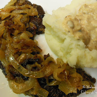Liver & Onions with Gravy.