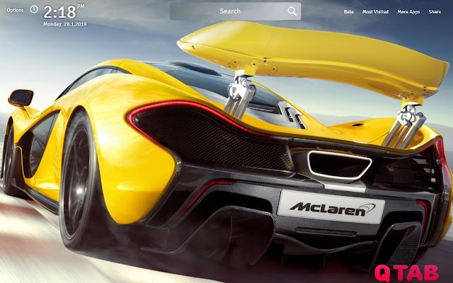 McLaren Wallpapers McLaren New Tab