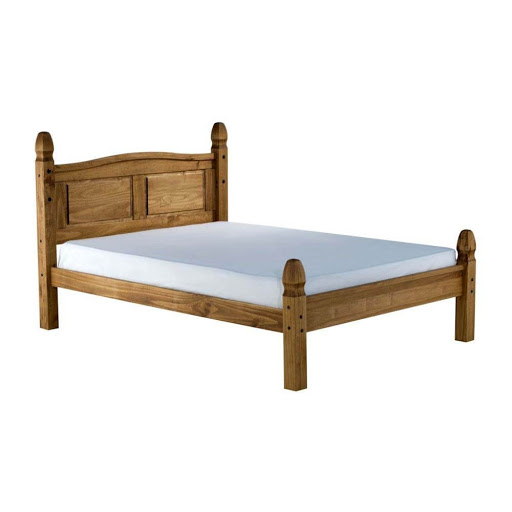 Birlea Corona Low End Pine Bed Frame Double