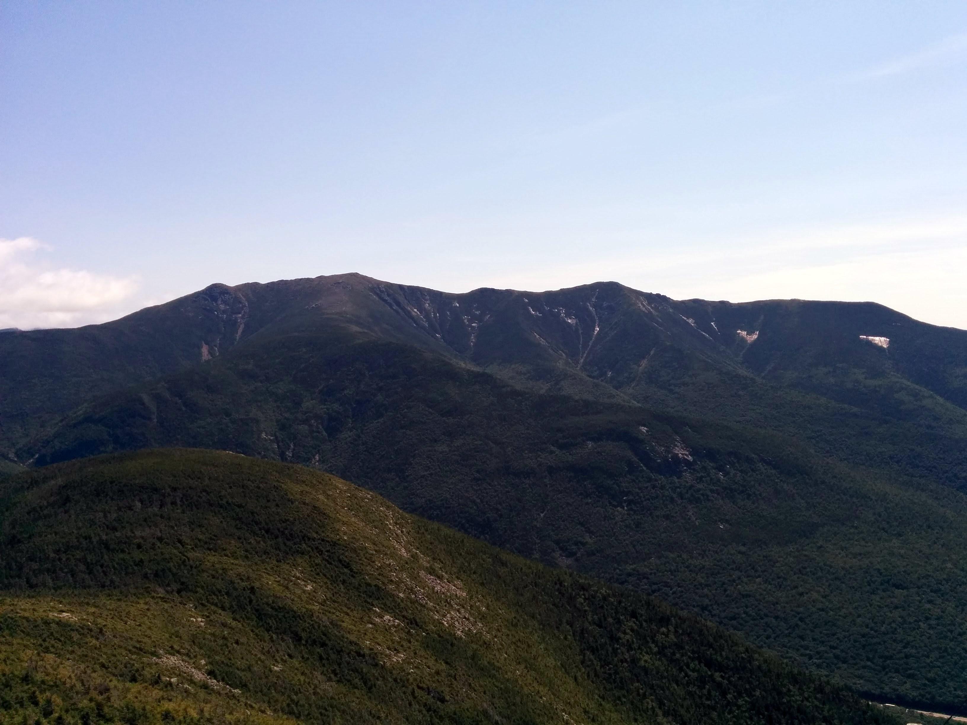 Photo: View of the next ridge over.