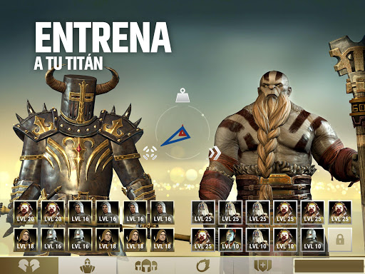 Dawn of Titans - Estrategia bu00e9lica u00e9pica  trampa 7