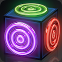 Merge Rings Neon - Drag n Fuse icon